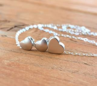 Mom of Twins Jewelry 925 Sterling Silver Necklace Adjustable Length