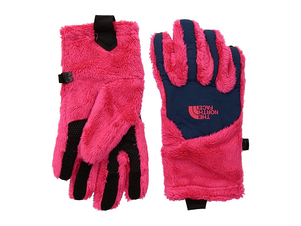 The North Face Kids Osito Etiptm Gloves (Big Kids) (Atomic Pink/Periscope Grey) Extreme Cold Weather Gloves