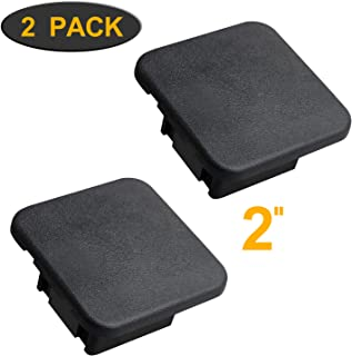 YiePhiot Trailer Hitch Cover, Fits 2 inches Receiver Tube Trailer Hitch Plug (2 Pack)