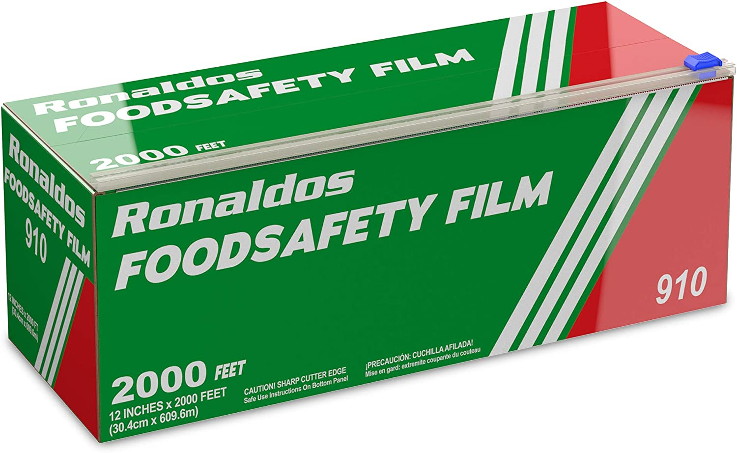 Ronaldos Import Food Tulsa Mall Safety Film 18 inch Wrap 2000ft Plastic x Commer