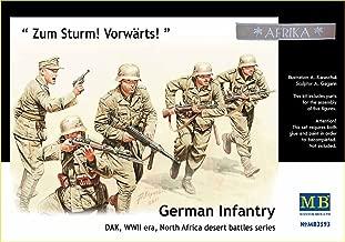 Master Box WWII DAK German Infantry N. Africa (5) Figure Model Building Kits (1:35 Scale)