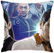 Yakuza-0 Square 18x18 Inches Decorative Pillowcases, Throw Cushion Cover with Zipper for Bedroom Living Room Sofa Home Decor