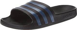 adidas Adilette Aqua, Unisex Adults Slides, Black (Core Black/Legend Marine/Core Black), 10 UK (44 2/3 EU)