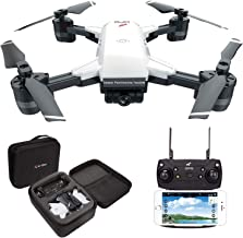 le-idea IDEA10 FPV RC Drone with 1080P Wide-Angle HD Camera Live Video and GPS Return Home, WiFi Quadcopter with Altitude Hold, Easy to Fly for Beginners, Intelligent Battery Long Control Range