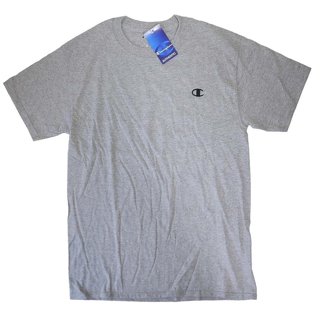 メトリック創始者隙間M チャンピオン Tシャツ メンズ 半袖 グレー USA CHAMPION 5046