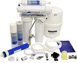 Finerfilters - Sistema de ósmosis inversa de 4 etapas con eliminación de fluoruro (50 GPD), para el mejor agua potable