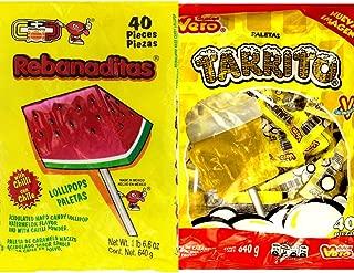 Vero Tarrito and Rebanaditas Paletas Bundle