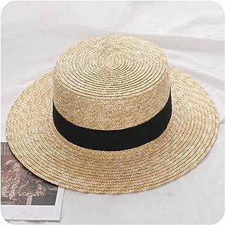Summer Women Wide Brim Straw Hat Fashion Chapeau Paille Lady Sun Hats Boater Wheat Panama Beach Hats