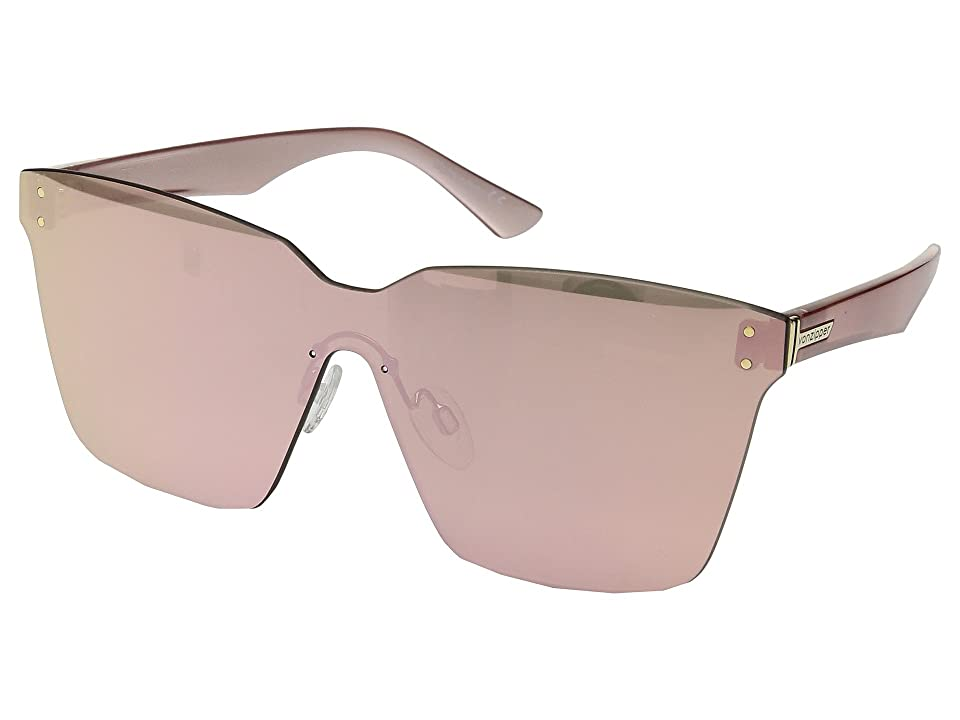 VonZipper Alt-Juice (Rose Gold/Rose Gold Chrome) Athletic Performance Sport Sunglasses