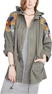 Womens Embellished Utility Jacket