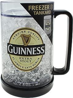 Guinness Freezer Tankard - 400 milliliter Large Plastic Beer Mug