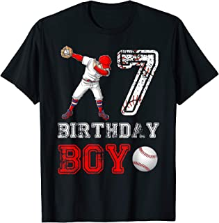 baseball birthday boy shirt