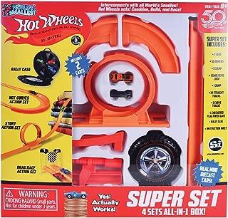 Worlds Smallest Hot Wheels Super Set 4 Sets in 1