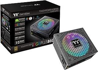 Thermaltake Toughpower iRGB Plus 850W 80+ Gold SLI/Crossfire Ready RGB LED ATX12V V2.4/ EPS V2.92 10 Year Warranty Fully Modular Digital Power Supply PS-TPI-0850F3FDGU-1
