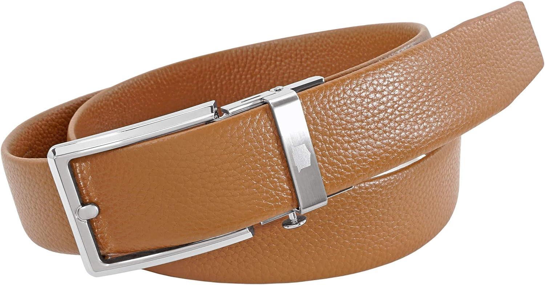 Florsheim Men's True Fit Dress Casual 34mm Track Belt