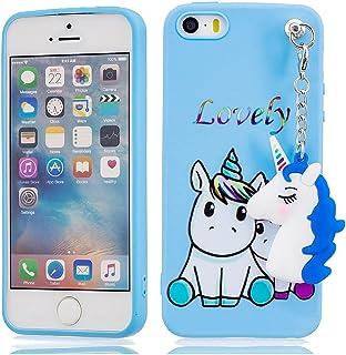 51449b0e589 EarthNanLiuPowerTu iPhone 5 5s SE 5C 5G Carcasa, 3D Lindo diseño Brillante  Brillante Suave Gel