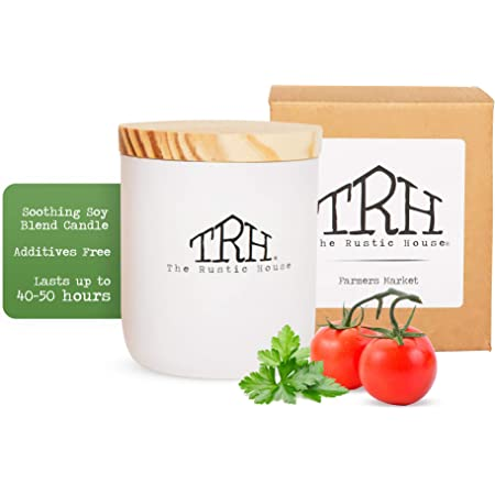 Tomato Leaf scented 100/% Soy Candle 16 oz