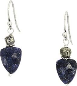 Semi-Precious Stone Drop Earrings