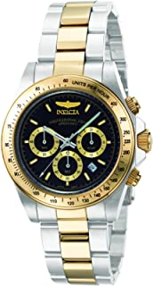 Invicta Men's Quartz Watch, Chronograph Display and Stainless Steel Strap 9224