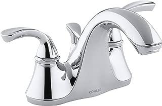 KOHLER K-10270-4-CP Forte Bathroom Sink Faucet, Polished Chrome