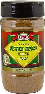 Ziyad Shaker Premium Seven Spice Blend,100% All-Natural Flavorful Spices, No Additives, No Preservatives, No Salt, No MSG,...