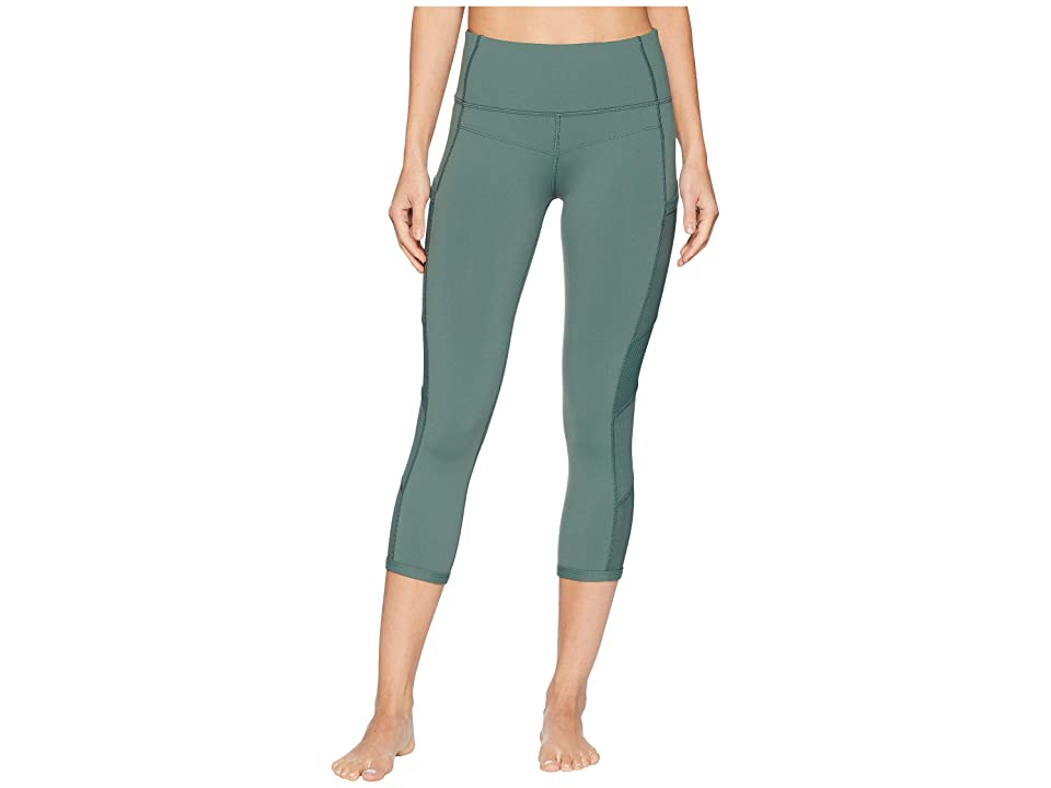 Lorna Jane Tri Ultimate Support 7/8 Tights (Military) Women