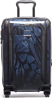 Tegra Lite Max International Expandable 4 Wheeled Carry-On Luggage - 22 Inch Hardside Suitcase for Men and Women