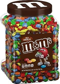 M&M's Milk Chocolate Candies Jar (62.0 OZ), 62 oz