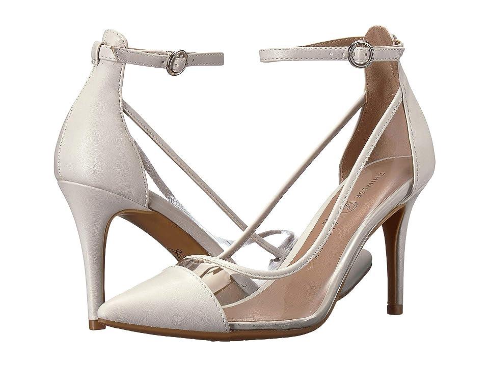 Chinese Laundry Gabrianna (Clear/Bone Smooth) High Heels