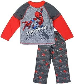 Spiderman Websling Childrens Super Panel Short Sleeve Pyjamas