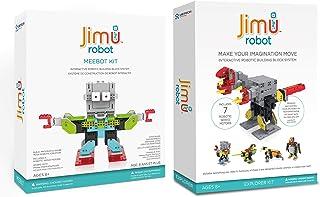 Jimu Robot Meebot 1.0 + Animal Add On Kit Bundle - Makes 5 STEM Robotic Characters