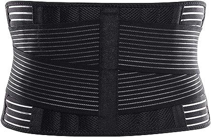 Cinturón Profesional Entrenador Tamaño Ajuste de Cintura Soporte de Cintura Unisex Apoyo de Espalda Cinturón Ejercicio físico