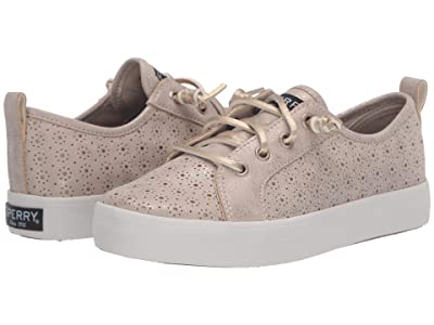 Sperry Kids Crest Vibe (Little Kid/Big Kid) (Champagne Perf) Girls Shoes