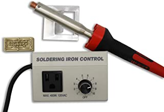 Custom Electric Branding Iron with Twig Border Includes Heating Tool and Temp Control Unit - Standard Size