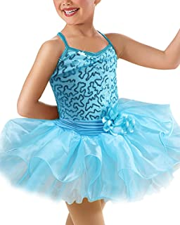CHICTRY Ragazza Costume da Jazz Hip Pop Outfits Glitter Abito da Danza Bambina Paillettes Top//Pantaloncini Sportivi//Polsini//Calze Set Ballo da Strada Carnevale Natale