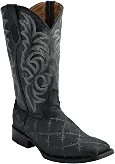 Ferrini Mens Barbed Wire Casual Western Shoes,