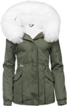 Trisens Damen Winter Parka Jacke Land Fell Kapuze WARM