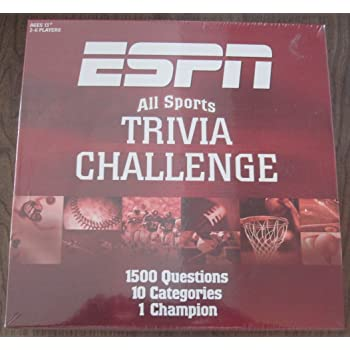 BRAND NEW IN BOX ESPN Sports Trivia Box Desk Top 2013 Calendar
