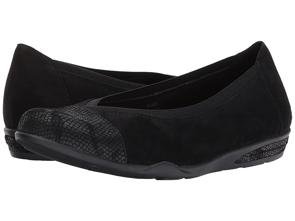 Earth Mara (Black Suede) Women