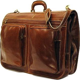 Floto Venezia Garment Bag in Vecchio Brown
