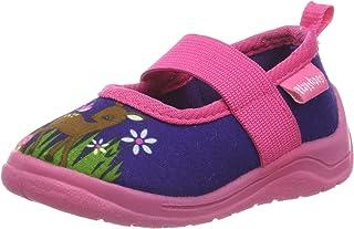Playshoes Chaussons Cerf, Pantoufles Fille