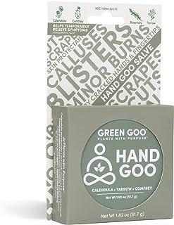 Green Goo Natural Skin Care Salve, Hand Goo, 1.82-ounce Large Tin