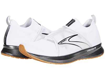 Brooks Levitate 4 L.E. (White/Black/Tan) Men