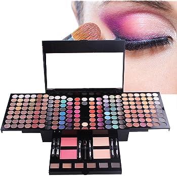 MUUZONING Paleta de Sombras de Ojos 180 Colores de Maquillaje Set ...