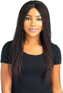 Wow Braids Micro Million Twist Wig, Color 1/35, 0.8 Pound