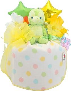 ディズニー 人気 オーガニック おむつケーキ パンパース m ベビー ギフト 出産祝い 日本製 オムツケーキ (オルメル)