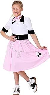 Girl's Sock Hop Sweetheart Costume