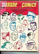 Parade Of Comics Coloring Book #4544 1966-Schulz-Caniff-Al Capp-Dick Tracy-VG