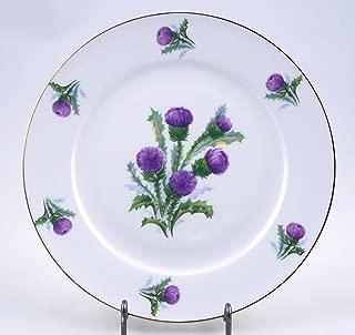 Fine English Bone China Salad Plate - Thistle Chintz - Springfield China - England