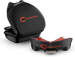 Champs Breathable Mouthguard for Boxing, Jiu Jitsu, MMA, Muay Thai, Sports, and Wrestling. Easy Fit Boxing Mouthguard Supe...